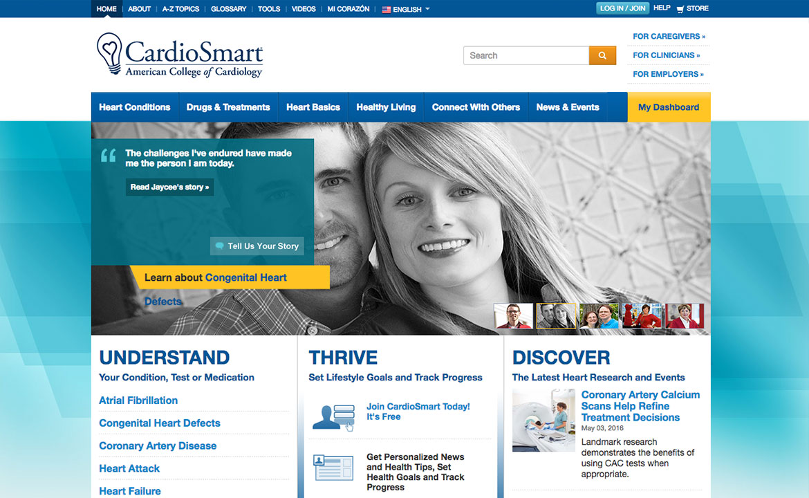 American College of Cardiology Homepage