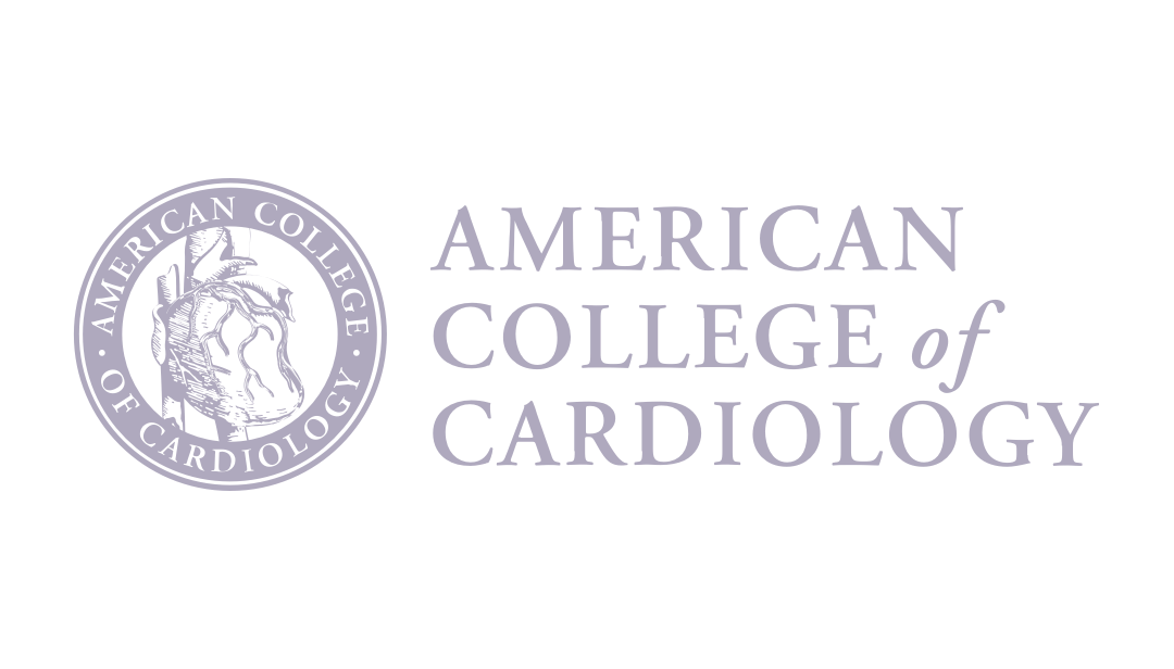 American College of Cardiology logo light purple