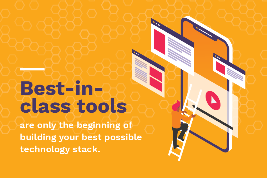 Best-in-class marketing technology tools graphic