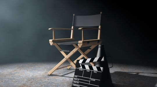 Director's Chair for screen acting